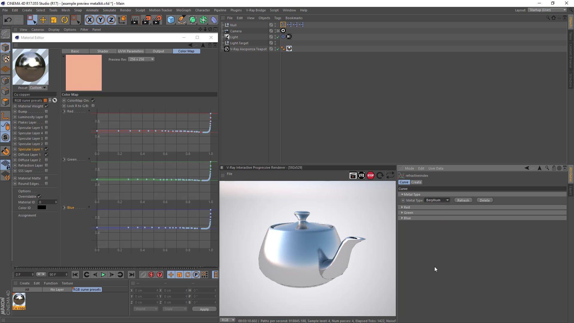 C4D - Plugin - Refractive Index Importer | 3D – Tools