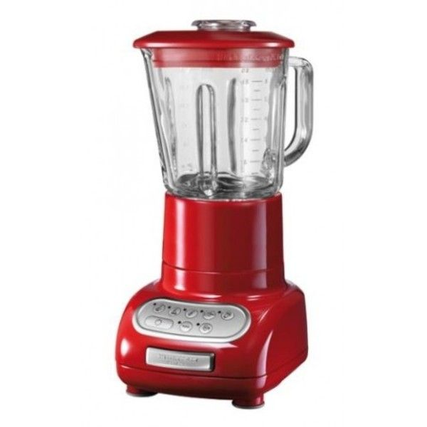 KitchenAid Empire Red Artisan Blender ($215) ❤ liked on Polyvore - kitchenaid küchenmaschine artisan rot