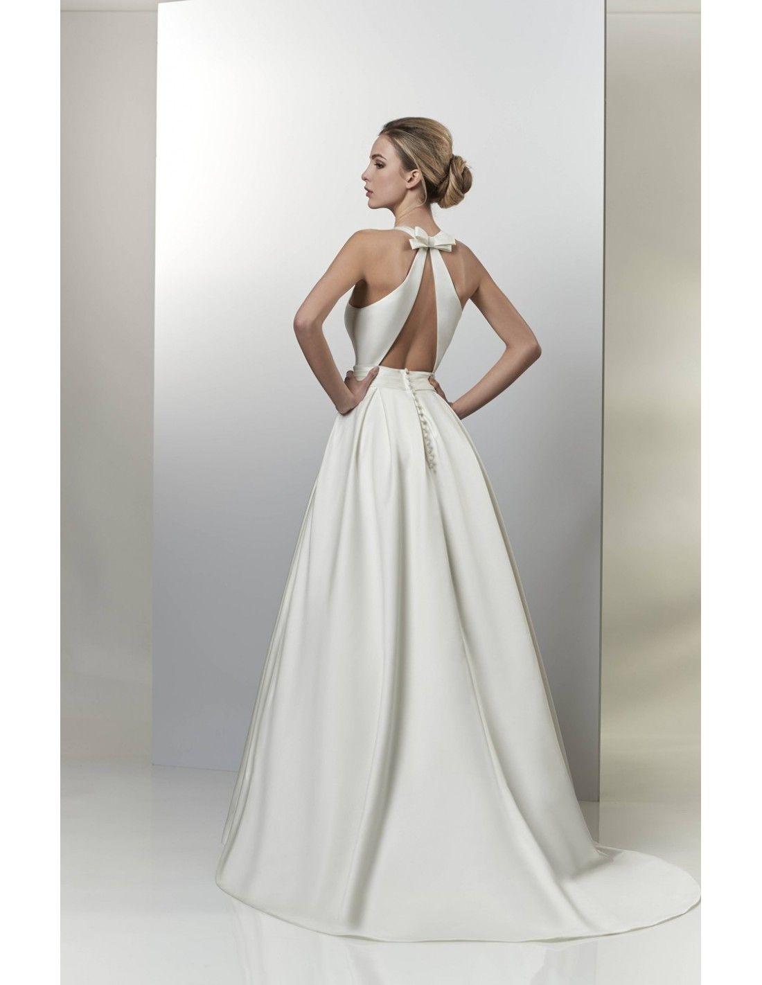 Luxurious satin ballgown available at Spotlight Formal Wear! #SpotlightBridal