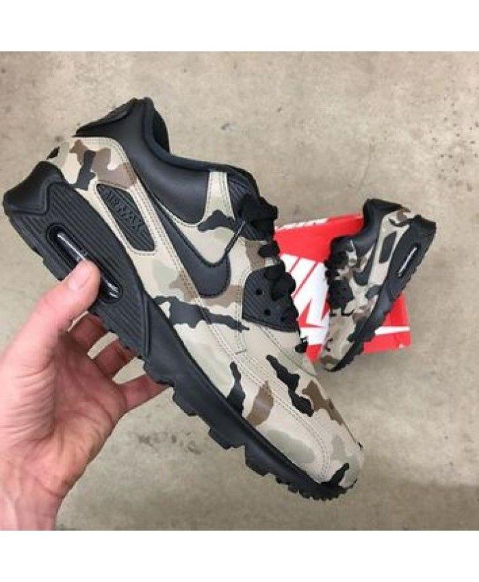 Nike Air Max 90 VT Desert Camo Noir | hype Shoes en 2019