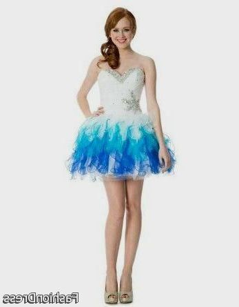 Cool short puffy blue prom dresses 2017-2018 | Cars 2017 | Pinterest ...
