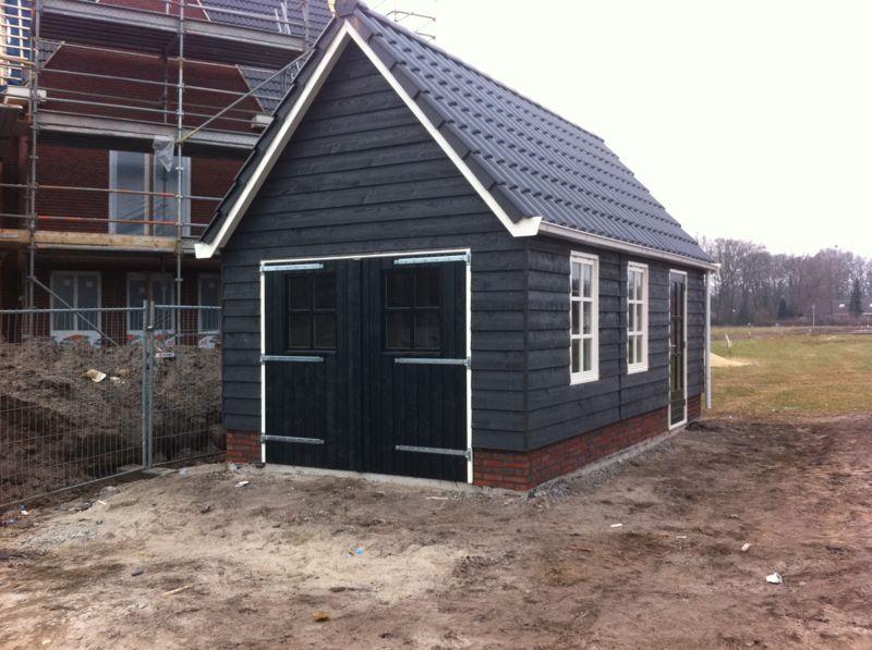 Houtbouw Garage Schuur : Houten garage gorssel vekam houtbouw tuin pinterest