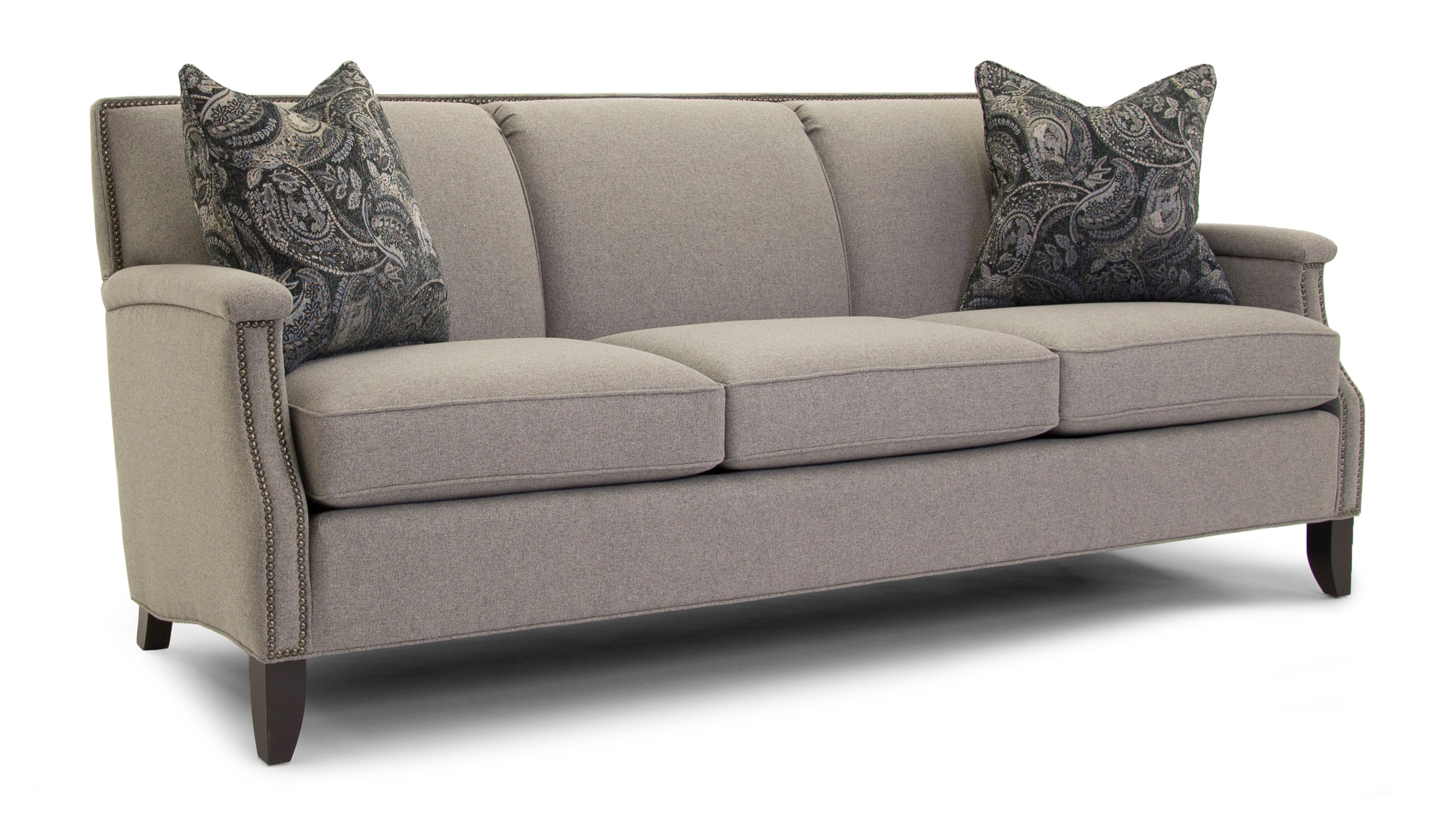 Smith Brothers Stationary Fabric Sofa 251 10 Sofa Living Room Furniture Collections Living Room Sofa Furniture