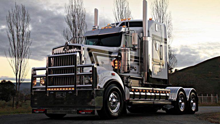 Semi Truck Hd Wallpapers Trucks Kenworth Truck Wallpaper