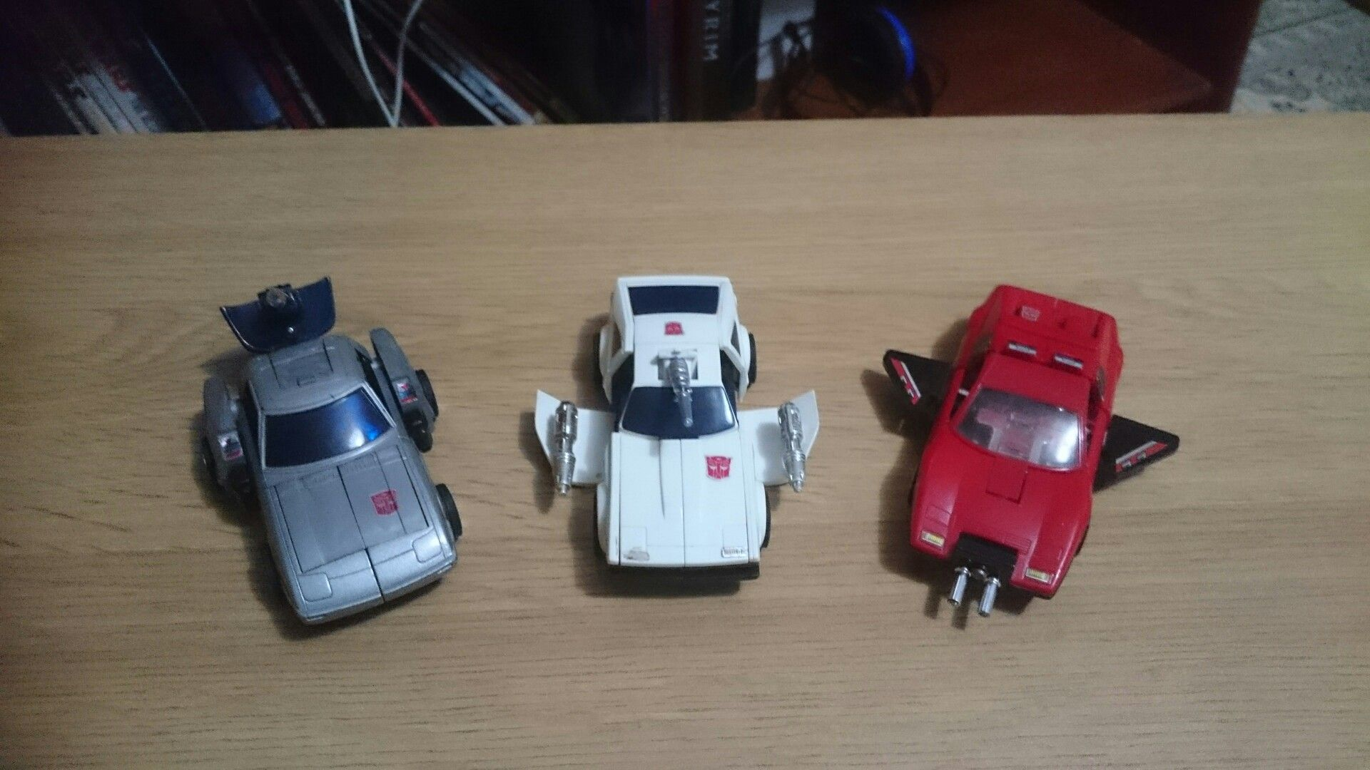 80s car toys  Omnibots vehicle Attack modes  Mail Away Autobots from  known