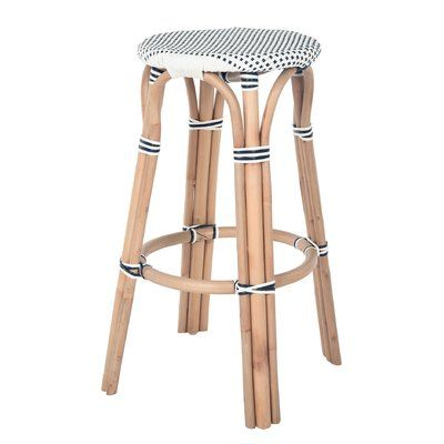 Bay Isle Home Kenneth Bistro Backless 30 5 Bar Stool Bar Stools Home Bar Furniture Modern Bar Stools