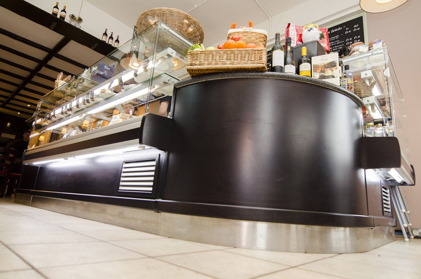 Front Counters Catersales Coffee shop design, Counter