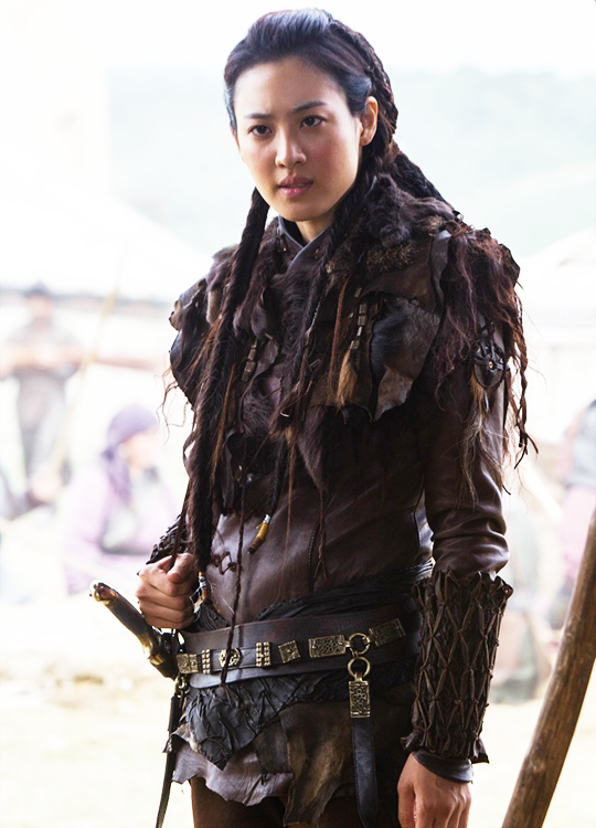 Claudia Kim in Marco Polo (2014). | Warrior woman