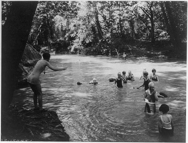 Vintage Swimming Hole What Better Place To Be On A Hot Day Than Nice
