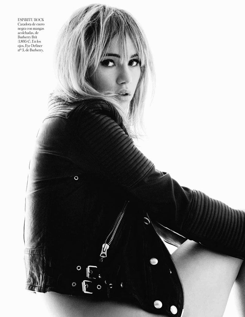 Vogue Spain Editorial May 2014 - Suki Waterhouse by Gorka Postigo  Rock and Roll Inspired Looks....