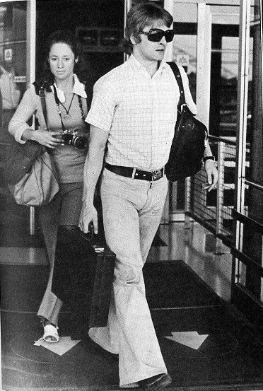 Mikhail Baryshnikov is the camera subject after arrival from Toronto,Canada to New York on July 20,1974. He will make his United States appearance with the American Ballet Theatre July 27, in New York City.