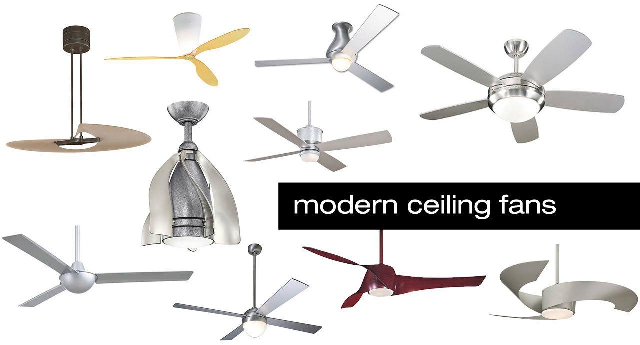 10 Modern Ceiling Fans Design Milk Modern Ceiling Fan Ceiling Fan Design Modern Ceiling