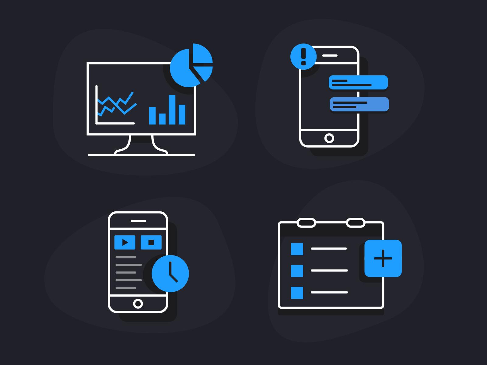 Software Tech Icons Icon Icon Design Logo Design