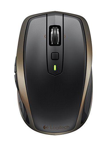a4bb6bd9a38 Logitech MX Anywhere 2 Wireless Mobile Mouse, Long Range Wireless Mouse