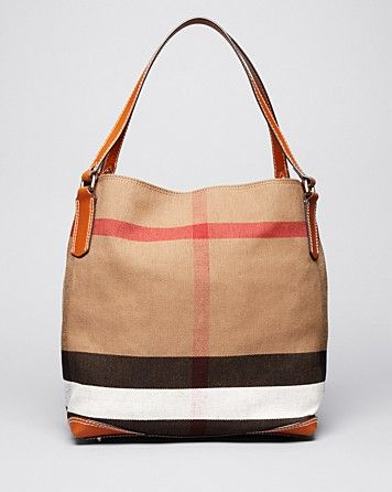 9313aeb1e455 Burberry Brit Tote - Canvas Check Medium Maidstone