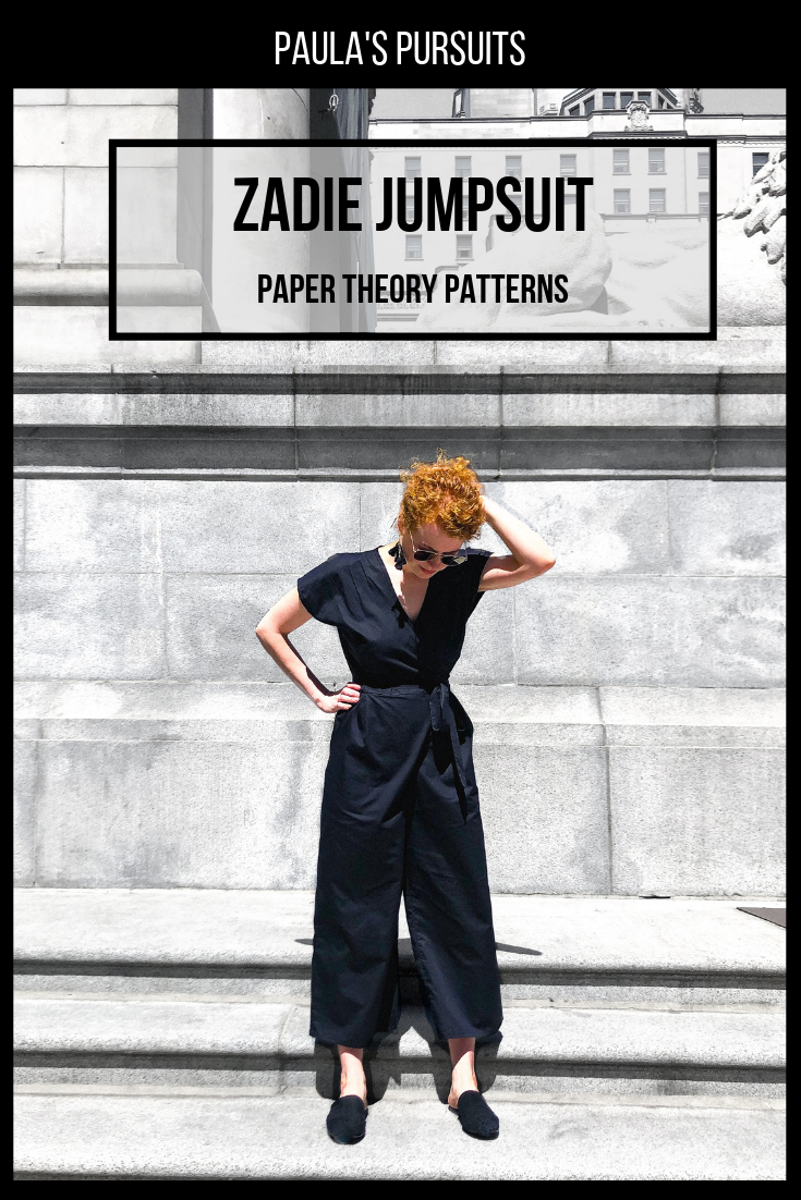 Zadie Jumpsuit Paper Theory Patterns With Images Jumpsuit Jumpsuit Pattern Pattern