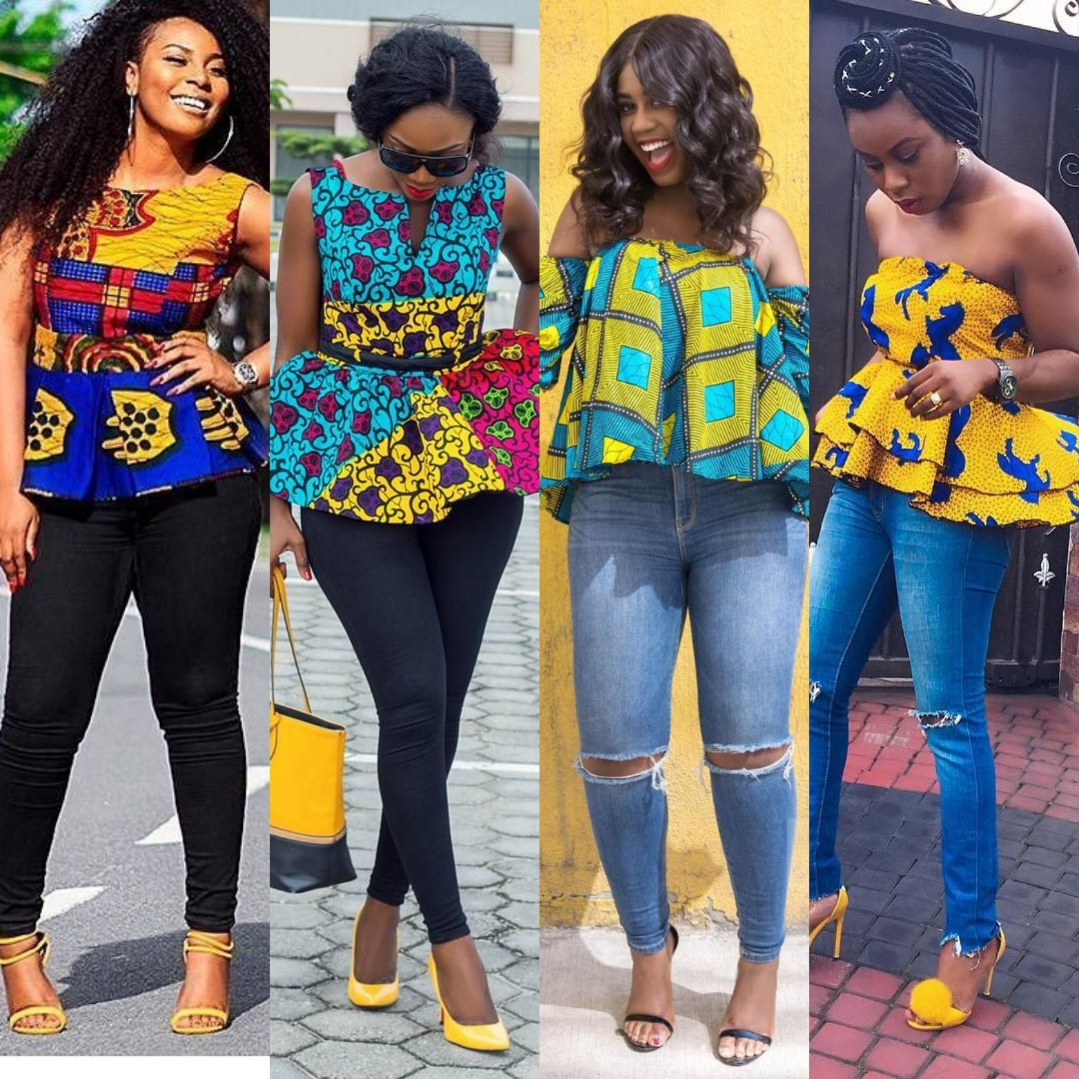 New Ankara Styles Siks Nd Tops: Ever Come Across Those Wonderful Trending Ankara Styles