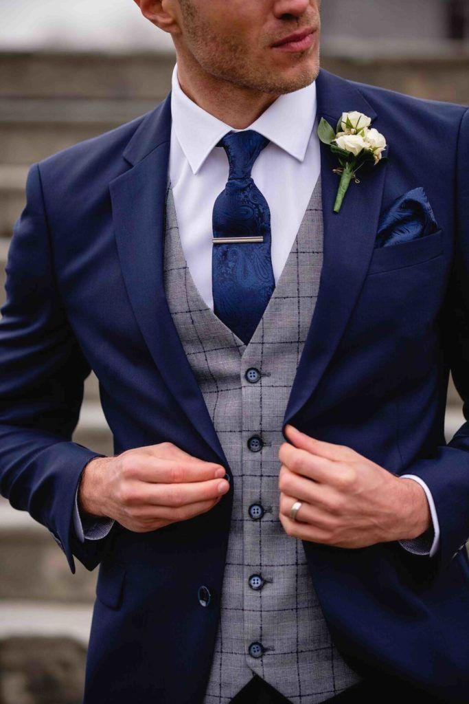 Autumn Winter In 2020 Blue Suit Wedding Wedding Suits Men Blue Wedding Suits Men