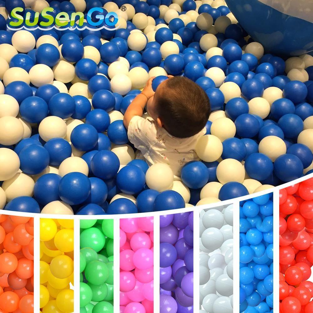 Susengo oceaan kleurrijke bal baby swim pit toy water zwembad 100 stks/sets golf bal milieuvriendelijke outdoor toys zacht plastic