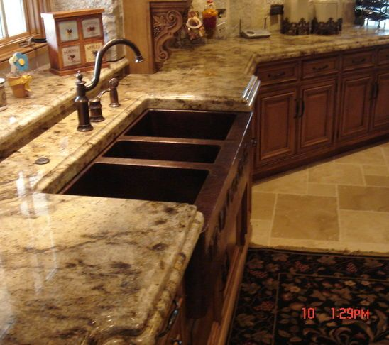 Granite Countertops Traditional Kitchen Chicago Quality Marble