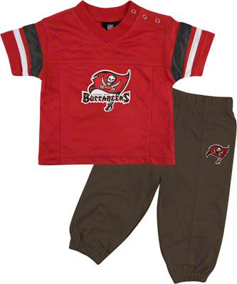 best cheap baff8 5067b Tampa Bay Buccaneers Infant Short Sleeve Football Jersey ...