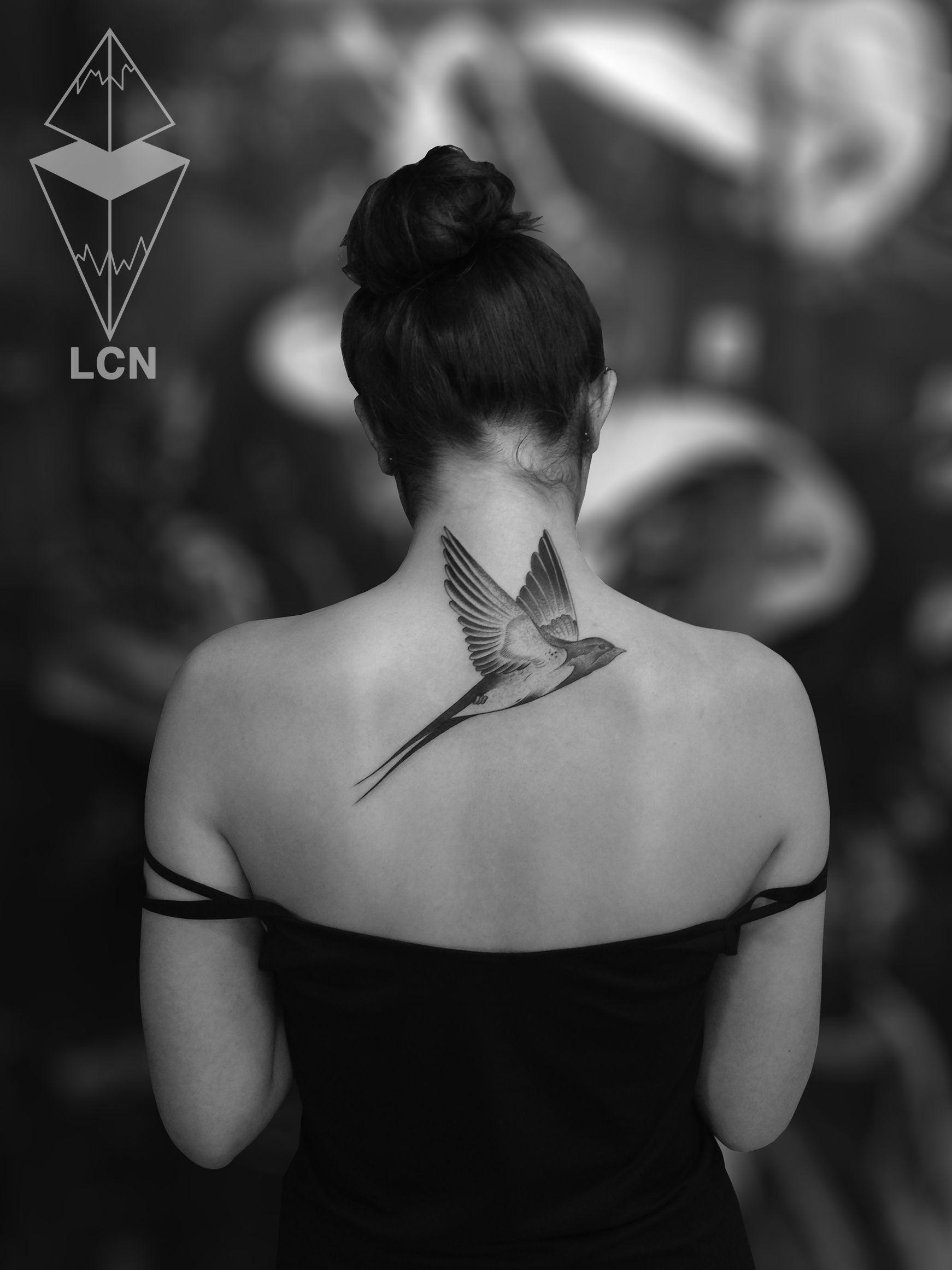 Bird... Tattoo réalisé pendant mon guest chez Tribal Act.