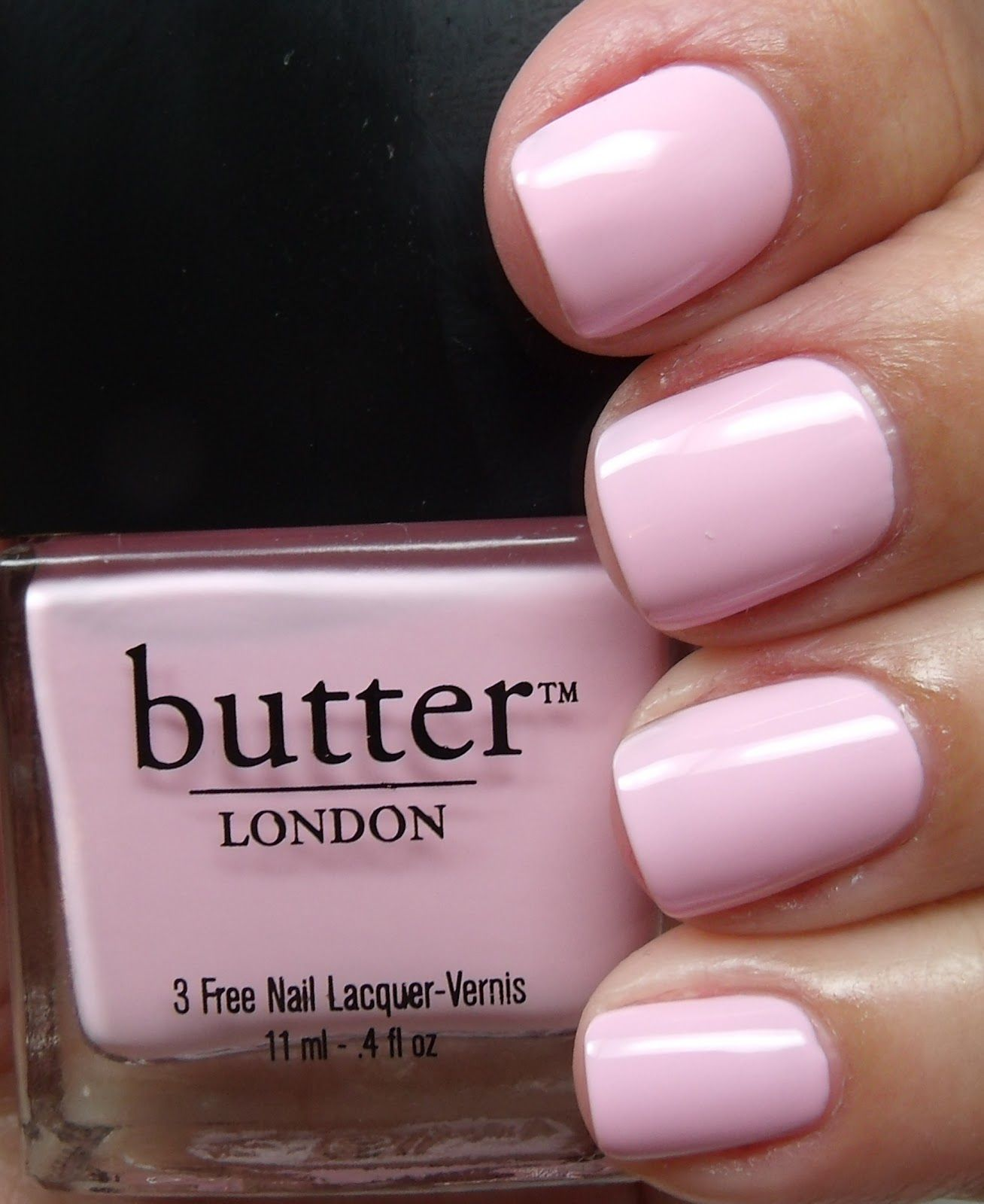 Butter London Trout Pout And Teddy Girl Nail Polish And Lippy