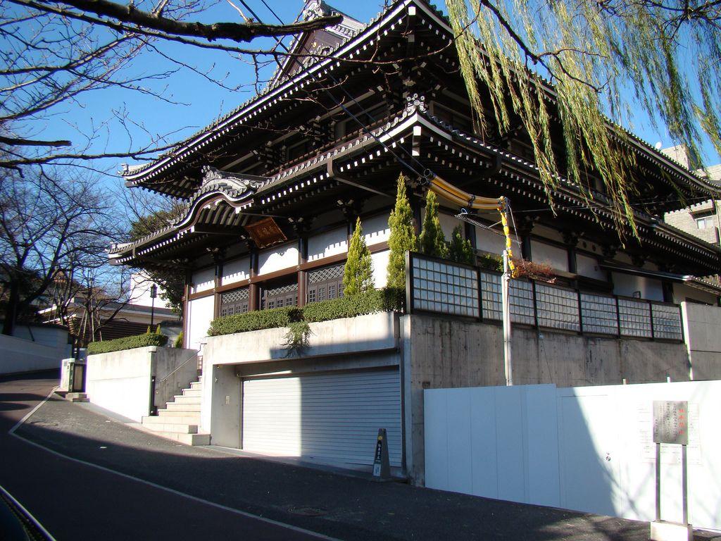 https://flic.kr/p/5Ps4ke | Zenpuku-ji | One of the buildings within the Zenpukuji compound