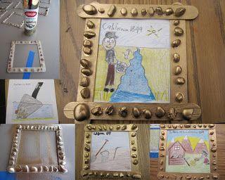 4th Grade History Art Project