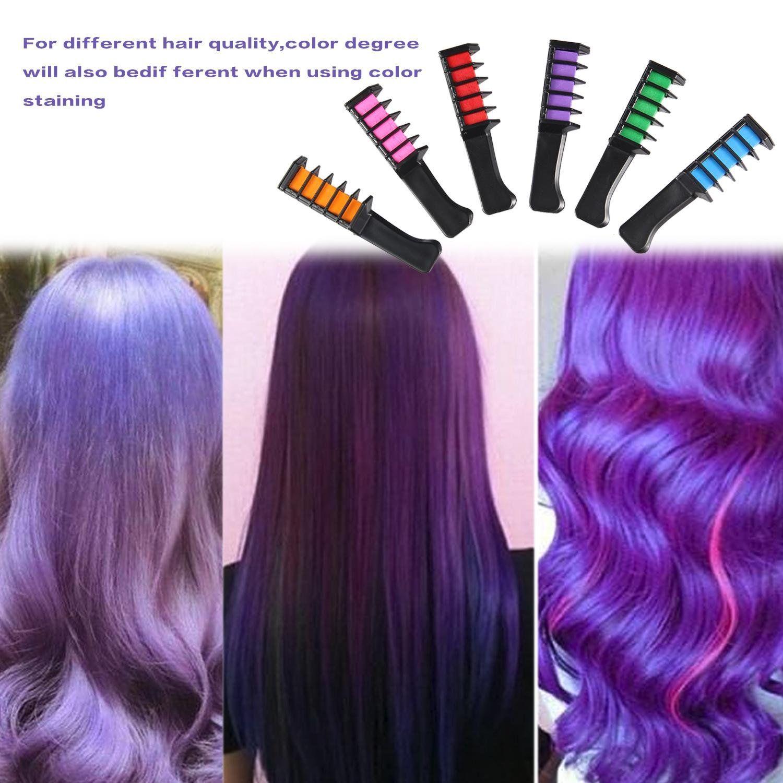 LeegoalTM Temporary Hair Color Comb Washable Hair Dye