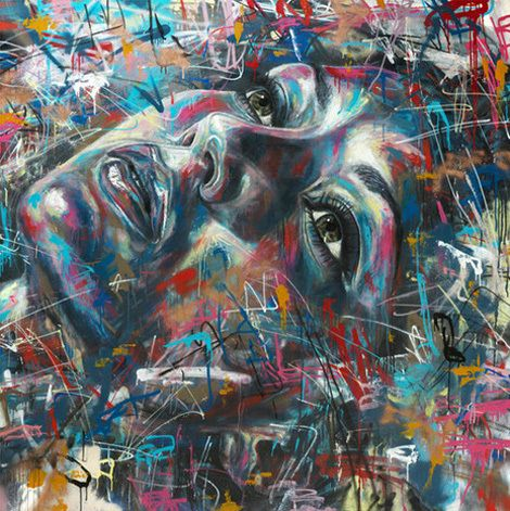 David Walker spray paint artist