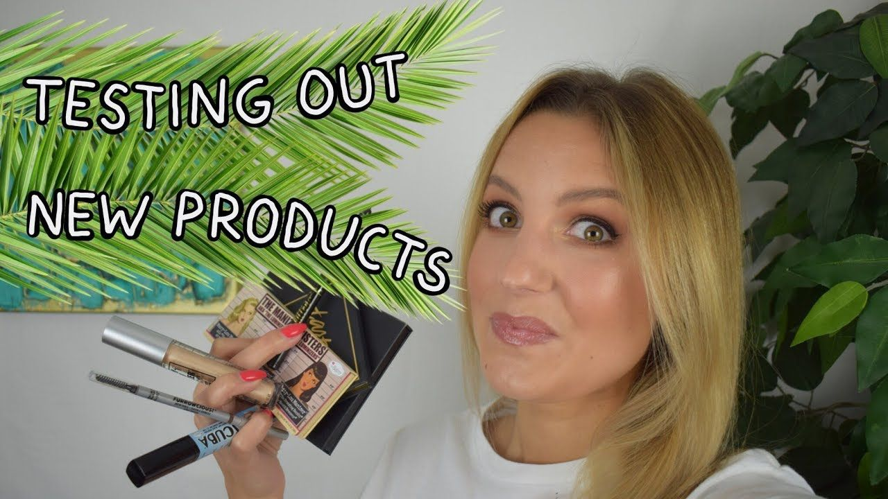 Testing Out New Makeup Products First Impression