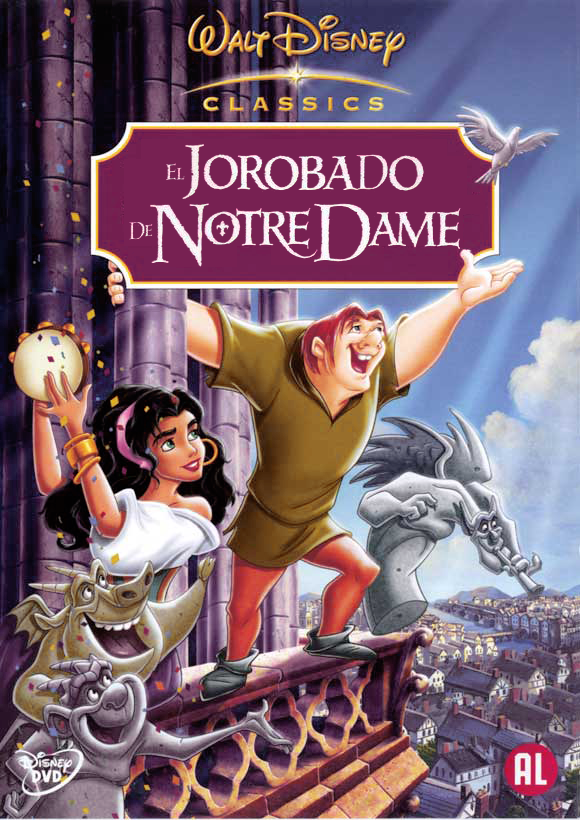 El Jorobado De Notre Dame Disney Classic Disney Movies Disney Movie Posters Walt Disney Movies