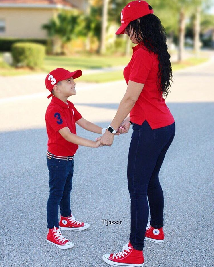 b172f0224 Mom and Son | Mini & Me Style | Mom, son outfits, Mommy, son, Mother ...