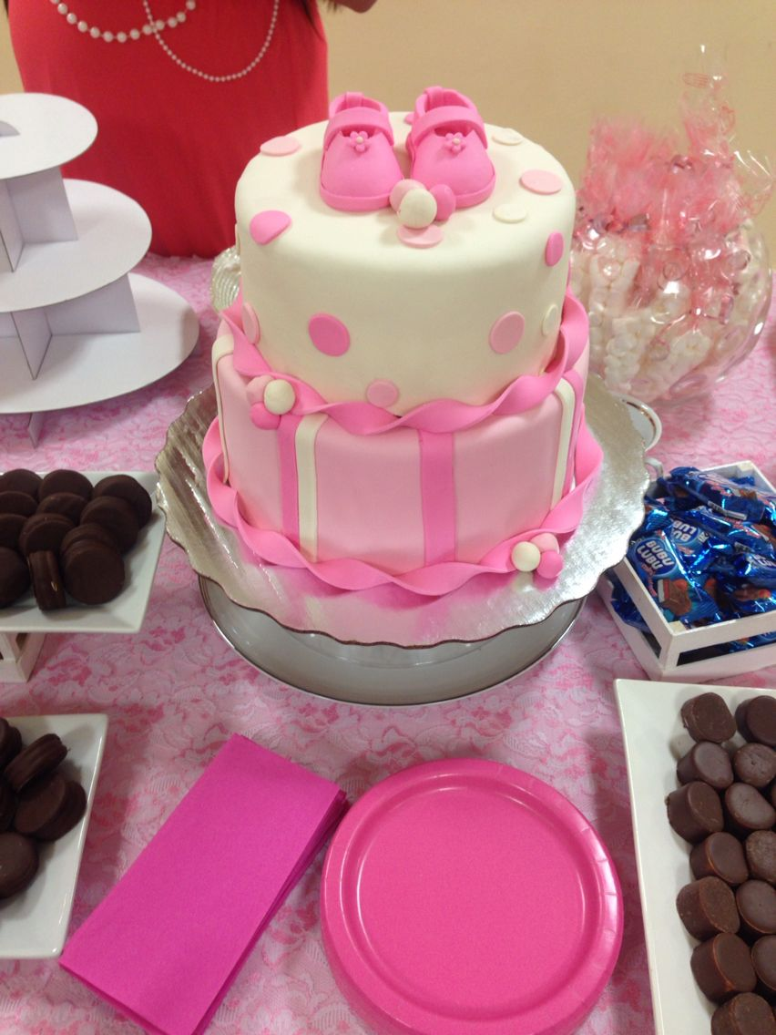 Attractive Pastel Para Baby Shower De Niña