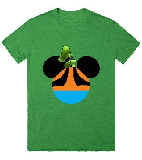 Mickey dressed as Goofy