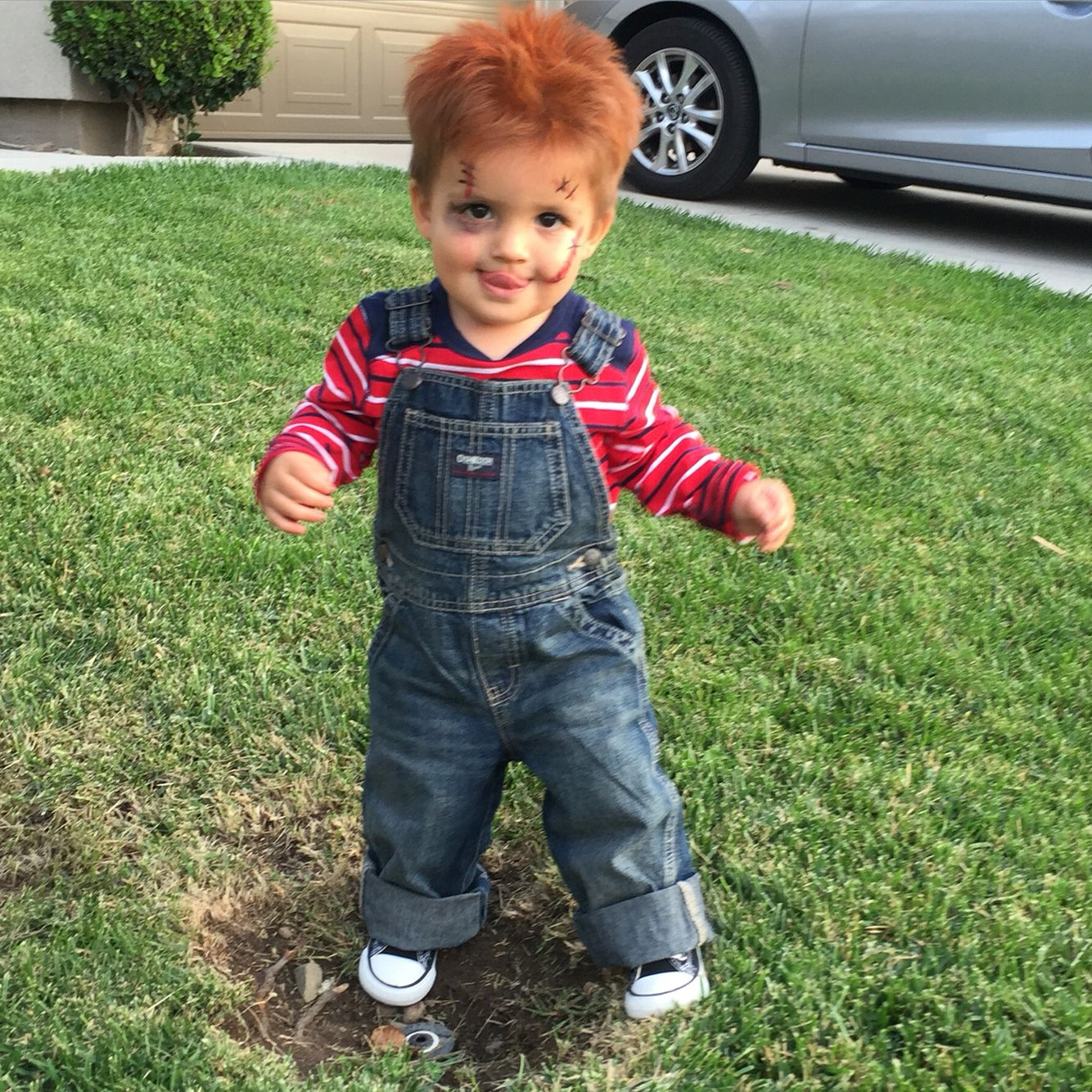 So excited for Riley's chucky costume!
