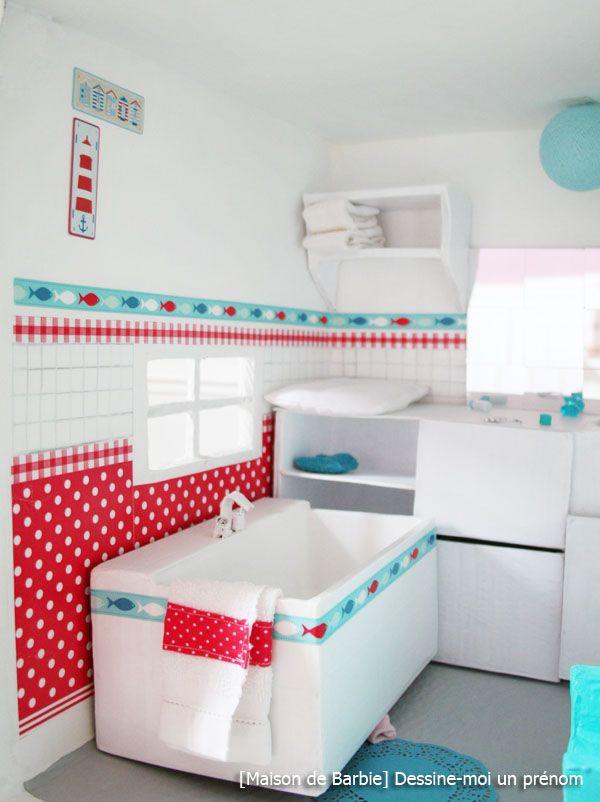 diy-tutoriel-fabriquer-maison-de-barbie-salle-de-bains | Maisons de ...