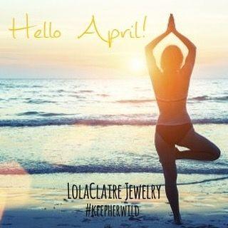 #helloapril #welcomeapril #naturelover #morningyoga #zen #innerpeace #lolaclairejewelryobx #wildatheart #wildwoman #freespirit #beautiful #girl #instalike #instagood #sunrise #ocean #beach #obx #outerbanks #serene