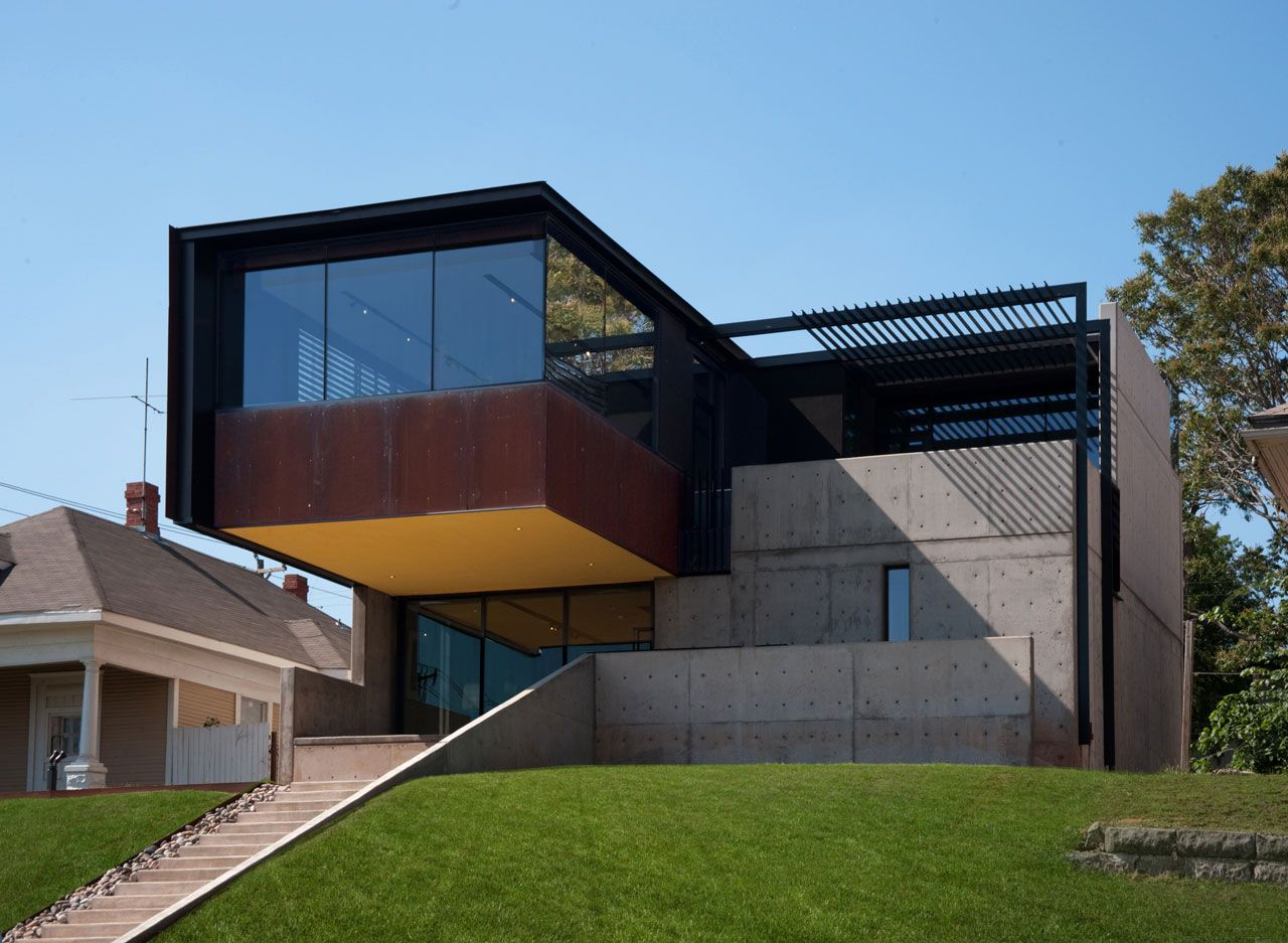 Oklahoma Case Study House By Fitzsimmons Architects Case Study Houses Architecture House Architect House