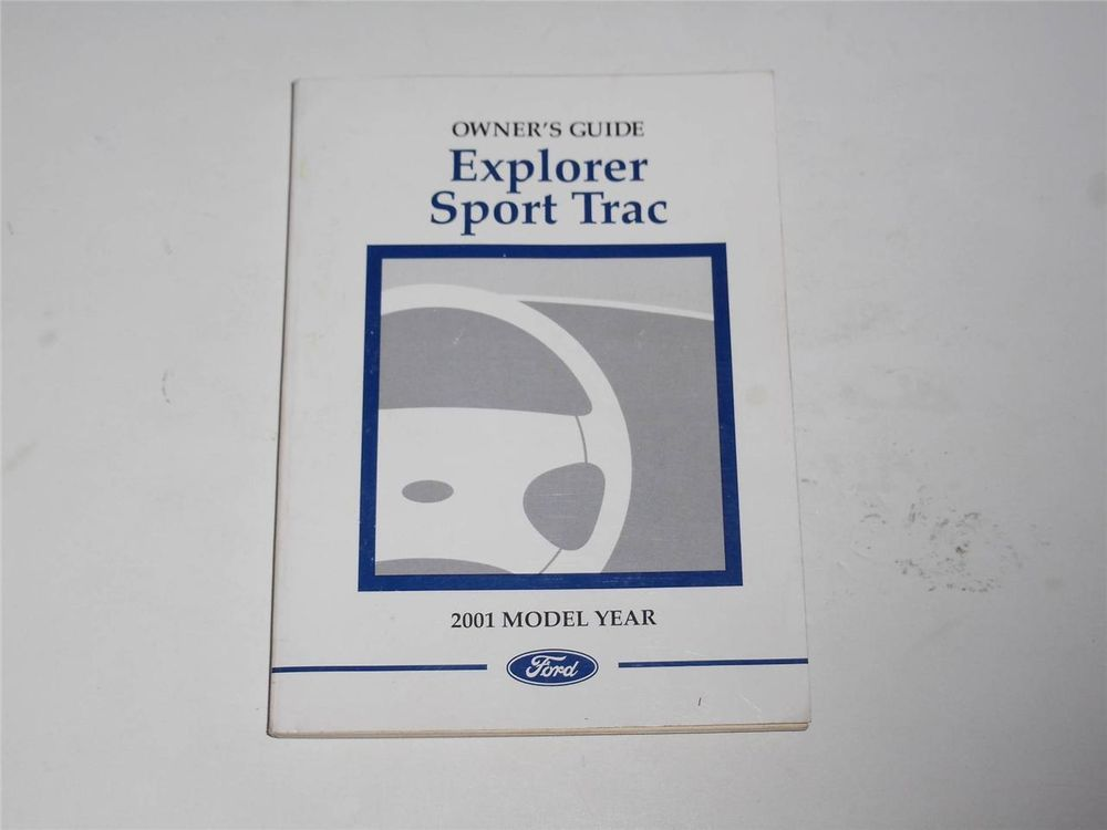 2001 ford explorer sport trac owners manual book owners manuals rh pinterest com 2001 ford explorer owners manual free 2000 ford explorer owners manual online