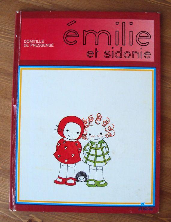 Emilie et Sidonie (1975) - by Domitille de Pressense - Vintage French Childrens Book