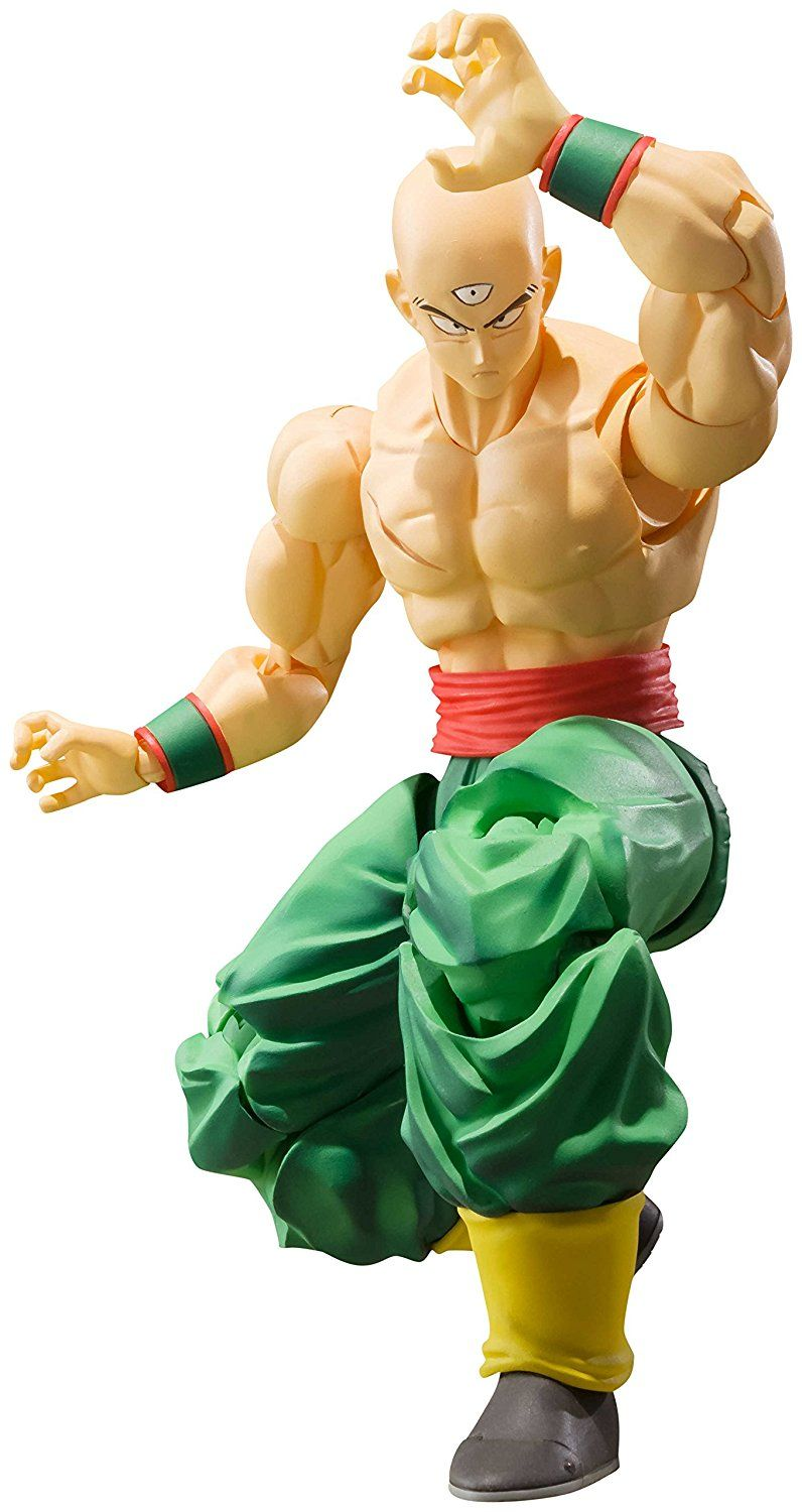 NEW S.H.Figuarts Dragon Ball Z Tenshinhan Action Figure Bandai