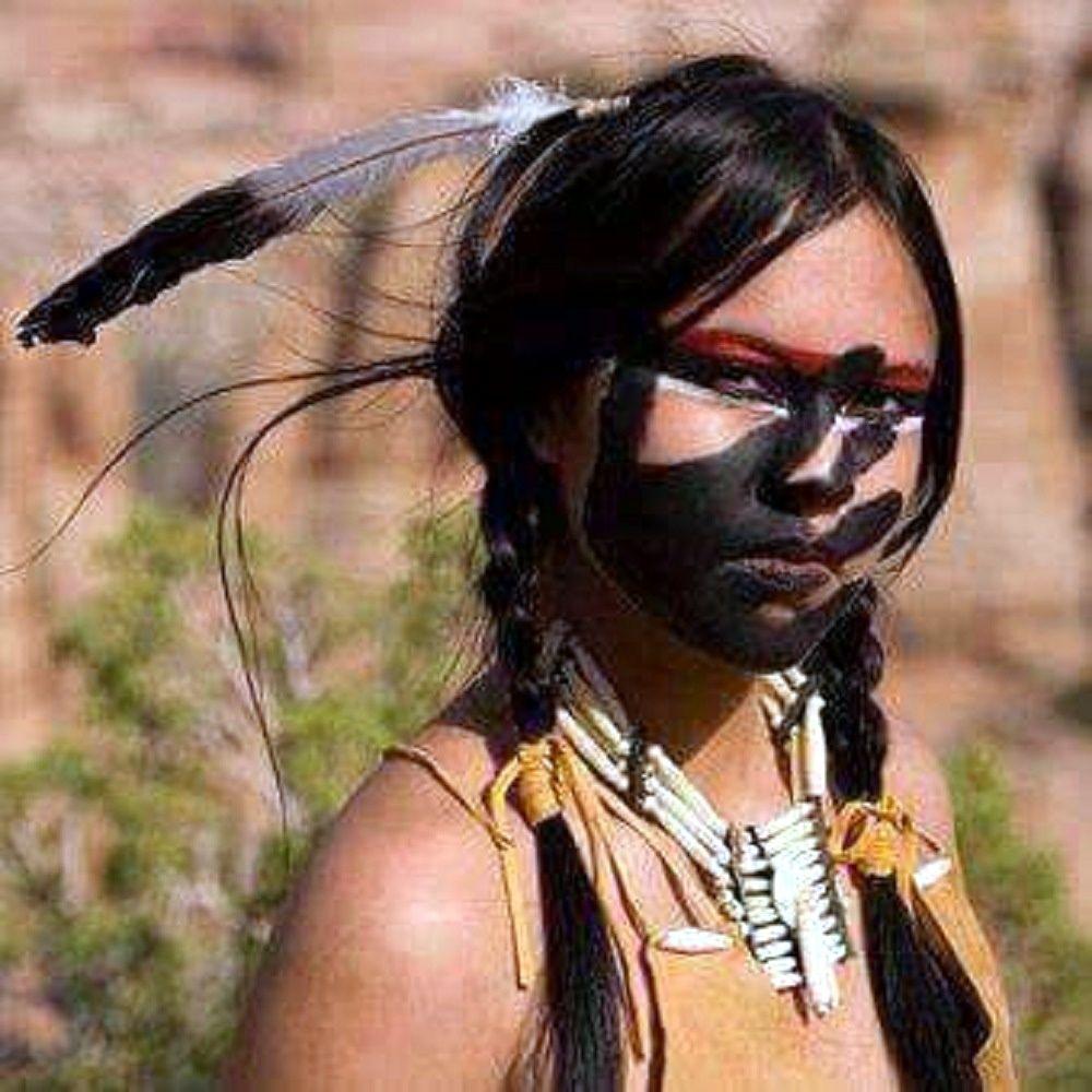 Tribos  Indianer mädchen, Indianer frisur, Indianer