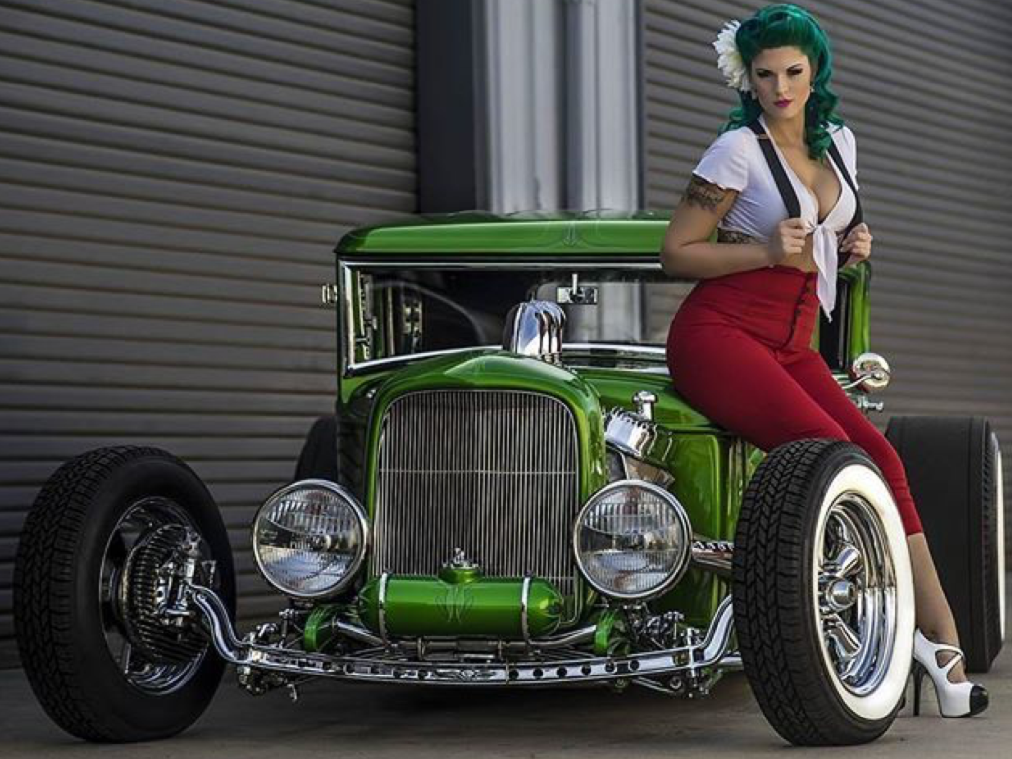 Hot rods and pimped girls — photo 7