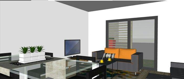 Salon salle à manger bas construction de maison haiti Pinterest