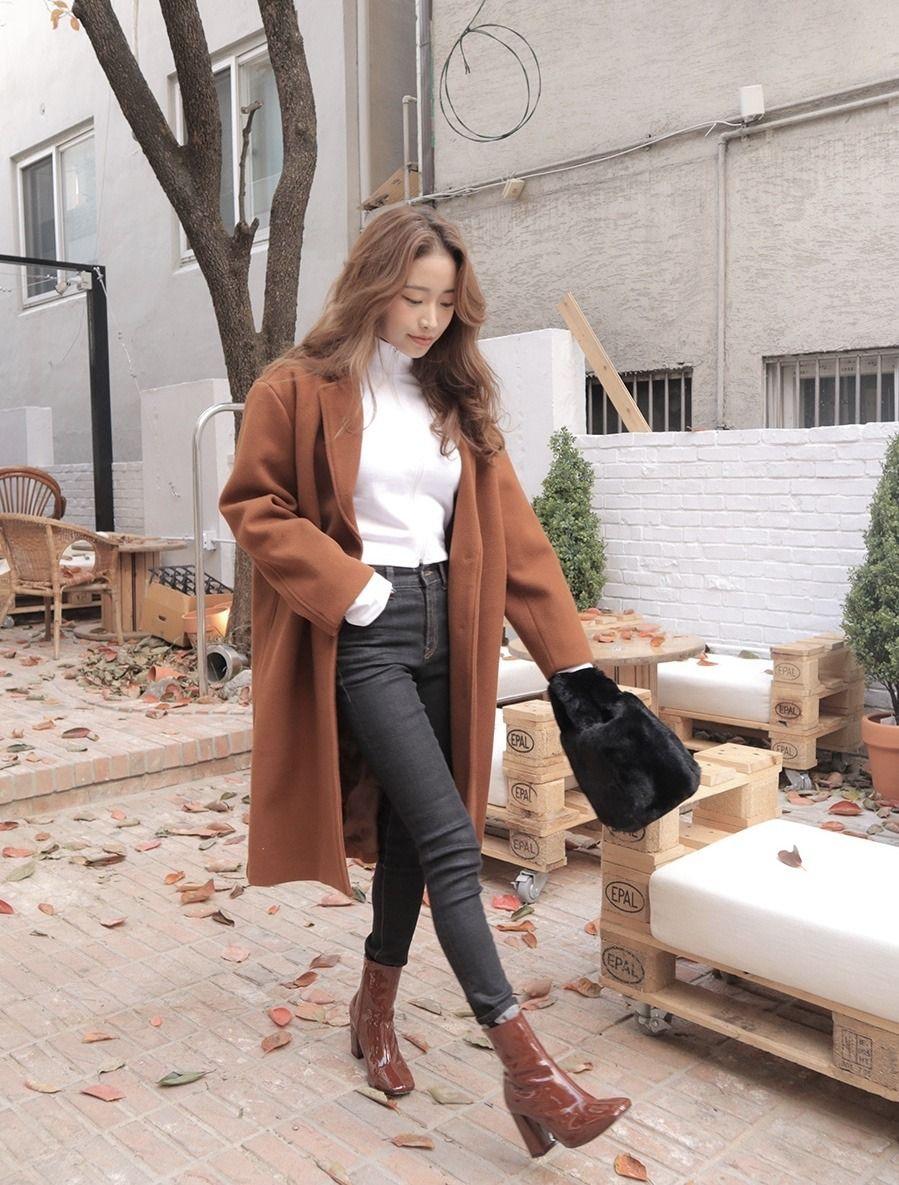 fall fashion korean  Tumblr  Fashion, Fall fashion outfits