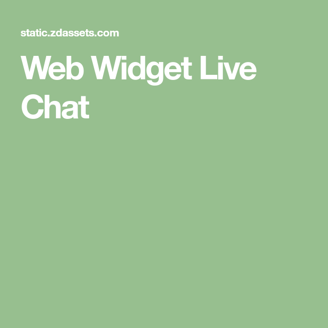 Web Widget Live Chat Live chat, Widget, Video downloader app