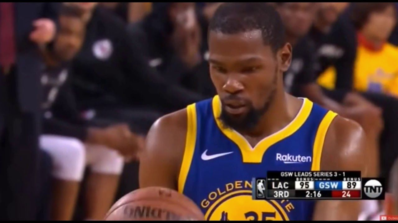Kevin Durant Game 5 Highlights Scored 45 Points Kevin Durant Youtube Guys