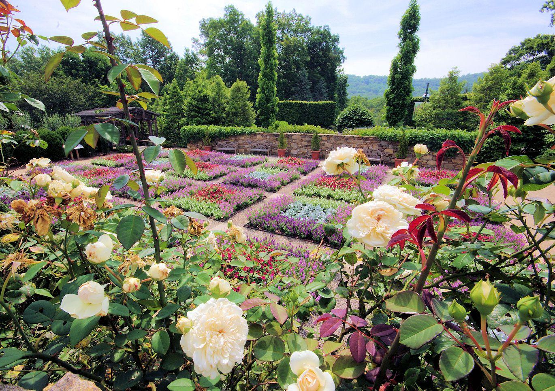 quilt garden at the north carolina arboretum in asheville - Garden Ideas North Carolina